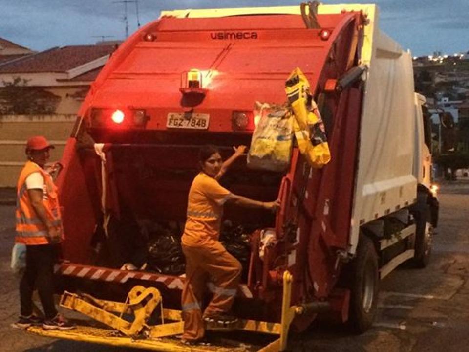 Coleta de lixo é restabelecida em Tatuí