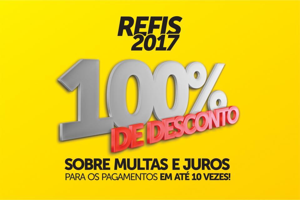 REFIS DÁ DESCONTO DE ATÉ 100% EM JUROS E MULTAS PARA IMPOSTOS ATRASADOS
