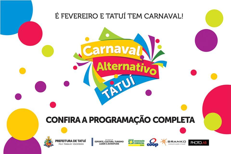 PROGRAMAÇÃO DE CARNAVAL