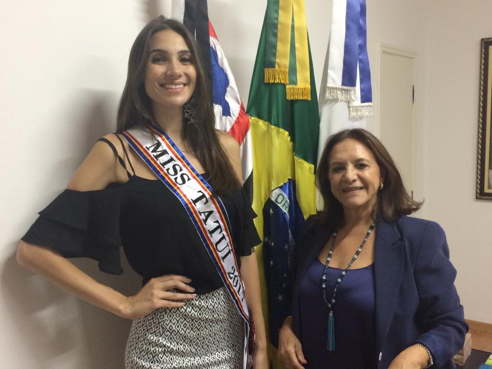 MISS TATUÍ IRÁ CONCORRER NO CONCURSO MISS SÃO PAULO 2017