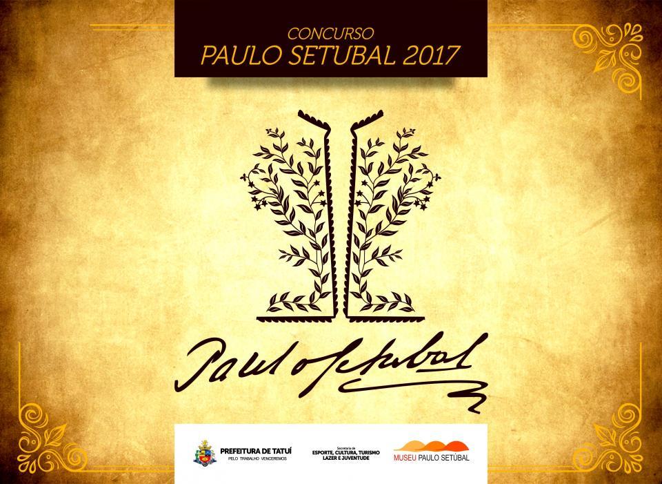 ESTÁ ABERTO OFICIALMENTE O CONCURSO LITERÁRIO PAULO SETÚBAL