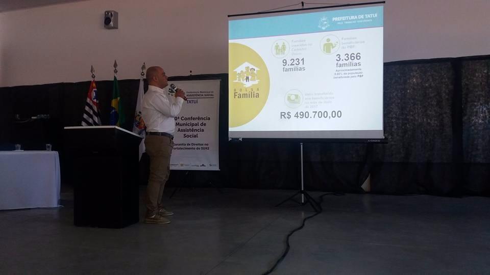 CONFERÊNCIA MUNICIPAL DE ASSISTÊNCIA  SOCIAL REUNE MAIS DE 200 PESSOAS