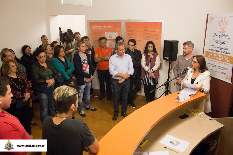 75ª SEMANA PAULO SETÚBAL TEM INÍCIO COM ABERTURA DE EXPOSIÇÃO NO MUSEU