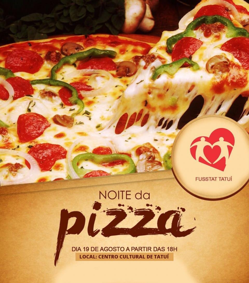 FUSSTAT PROMOVE NOITE DA PIZZA  EM PROL DA SANTA CASA