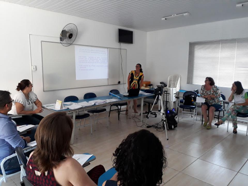 COORDENADORES DA REDE MUNICIPAL DE EDUCAÇÃO PARTICIPAM DE CAPACITAÇÃO DO PROGRAMA GESTÃO DA POLÍTICA DE ALFABETIZAÇÃO