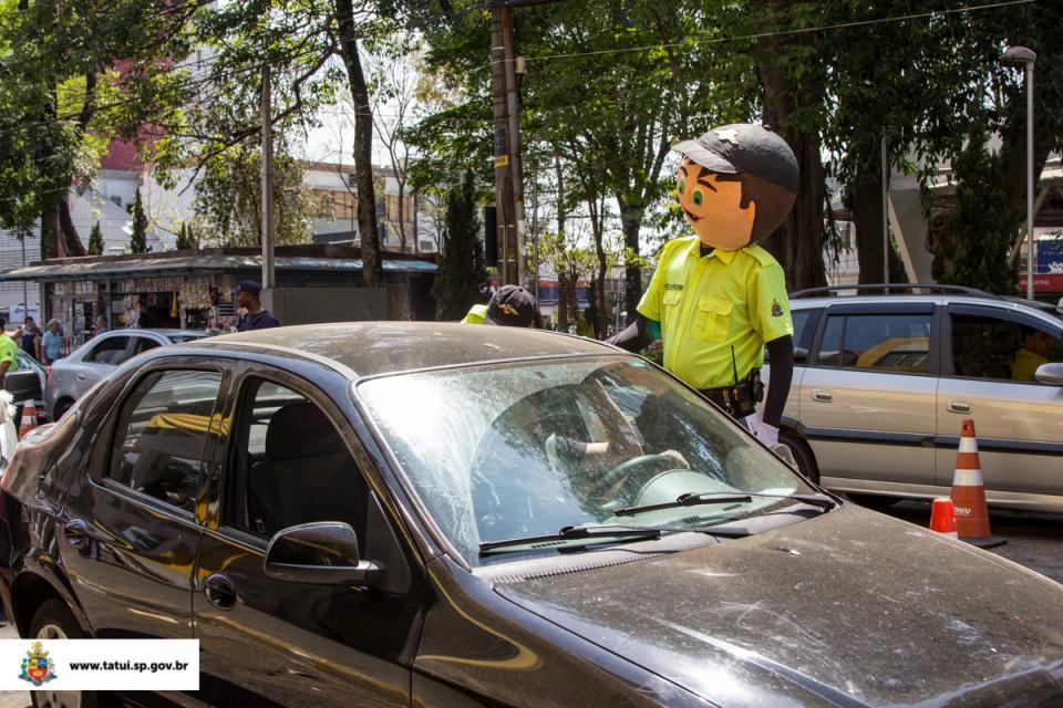 DEPARTAMENTO DE MOBILIDADE URBANA PROMOVE DIVERSAS AÇÕES NA SEMANA NACIONAL DE TRÂNSITO