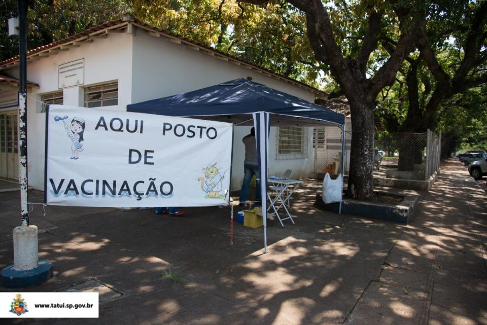 36ª CAMPANHA DE VACINAÇÃO ANTIRRÁBICA PARA CÃES E GATOS ESTÁ CHEGANDO AO FIM