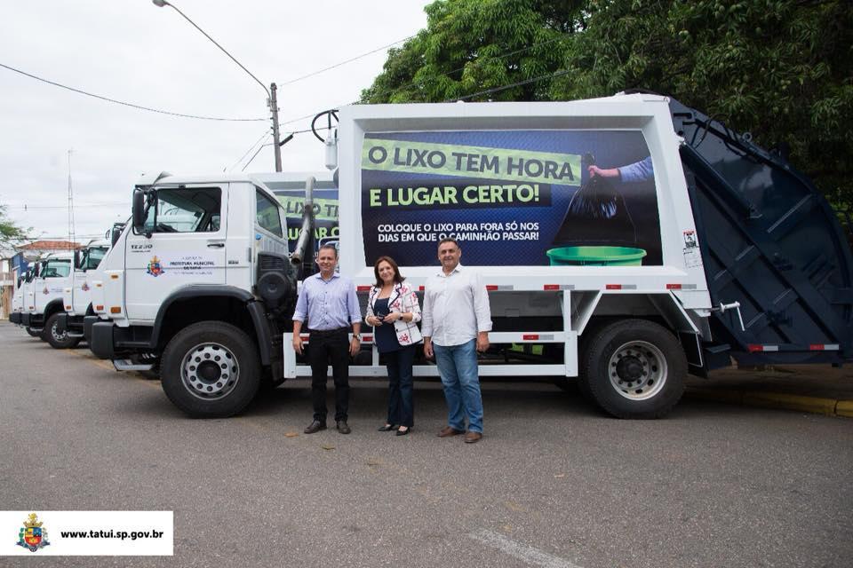 PREFEITURA ANUNCIA AQUISIÇÃO DE SEIS NOVOS CAMINHÕES DE COLETA DE LIXO