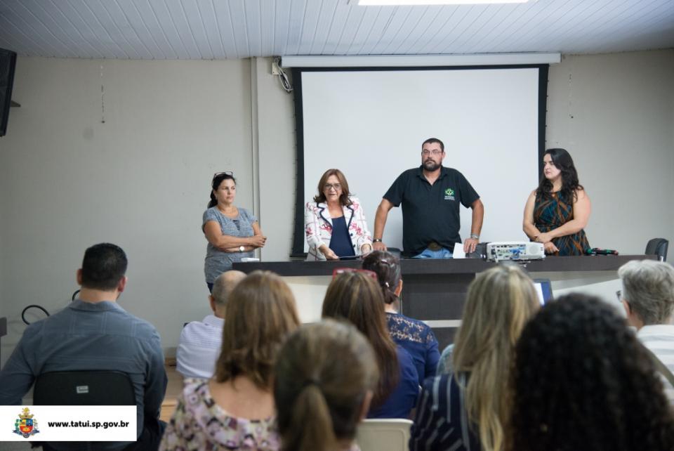 PREFEITURA PROMOVE PALESTRA  DIRECIONADA A SEGURANÇA ALIMENTAR