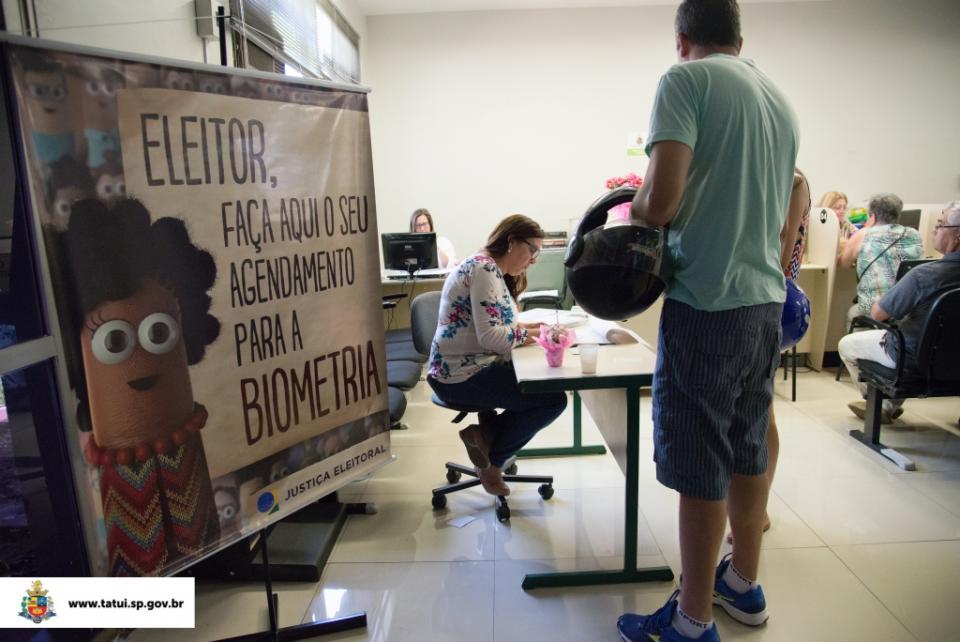 CARTÓRIO ELEITORAL REALIZA AGENDAMENTO PARA CADASTRO BIOMÉTRICO NO PAÇO MUNICIPAL
