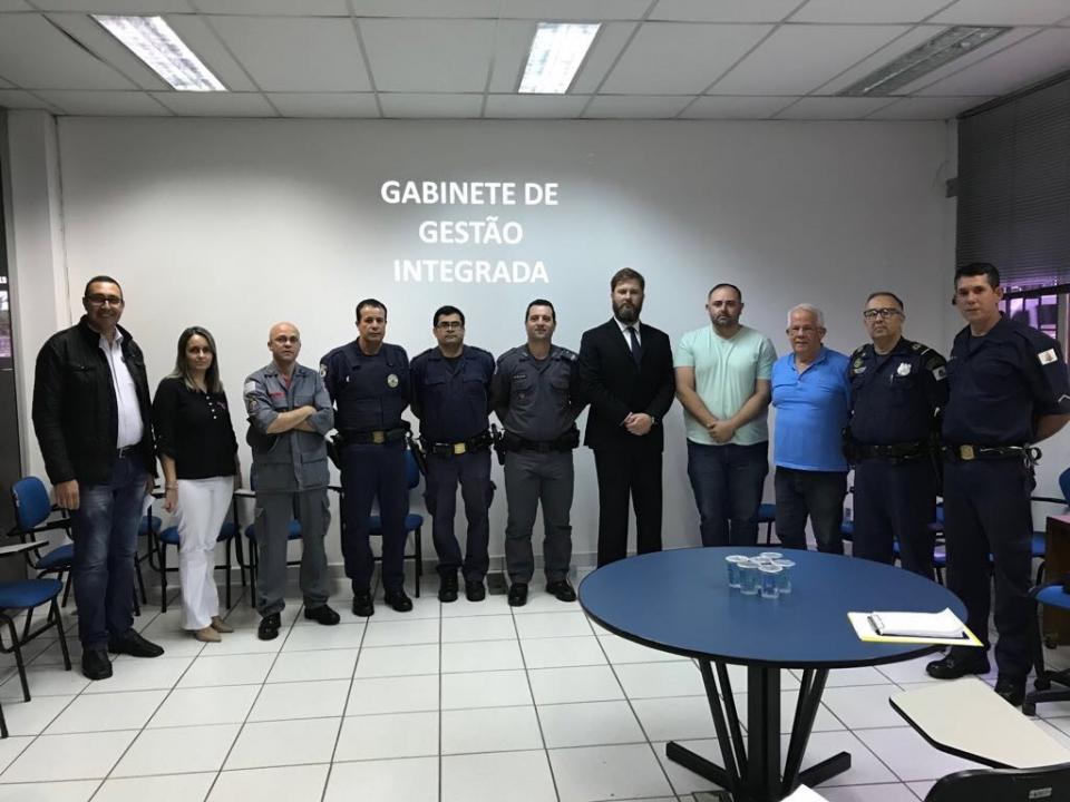 REUNIÃO DO GABINETE DE GESTÃO INTEGRADA MUNICIPAL DEFINE PLANEJAMENTO DE AÇÕES DE SEGURANÇA PÚBLICA PARA O PRÓXIMO MÊS