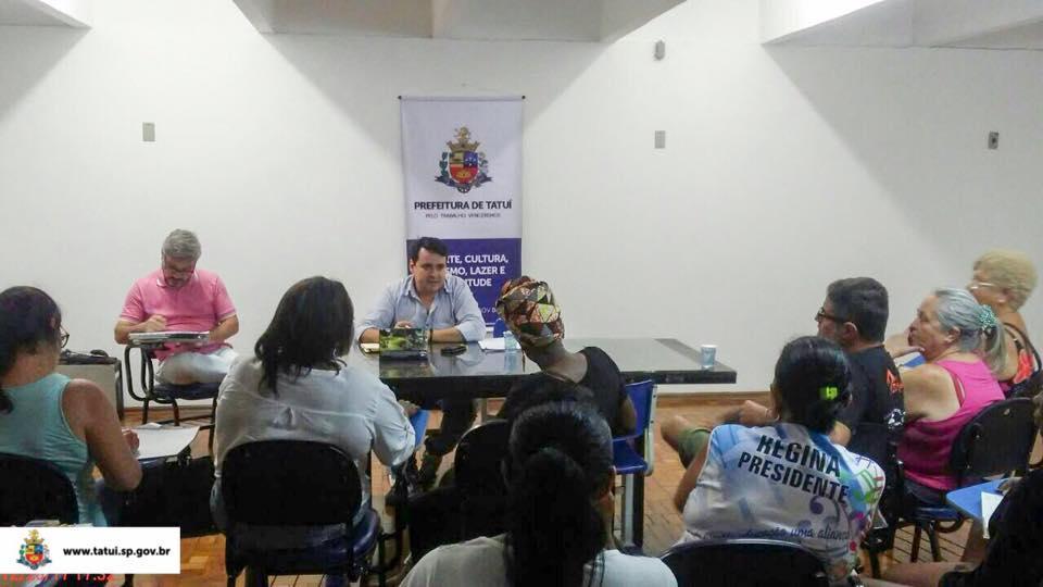 REUNIÃO COM DIRIGENTES DE BLOCOS E CLUBES DELIBERA FORMATO DO CARNAVAL 2018