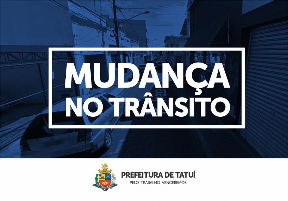 TRECHO DA RUA TREZE DE MAIO TERÁ PROIBIÇÃO DE ESTACIONAMENTO