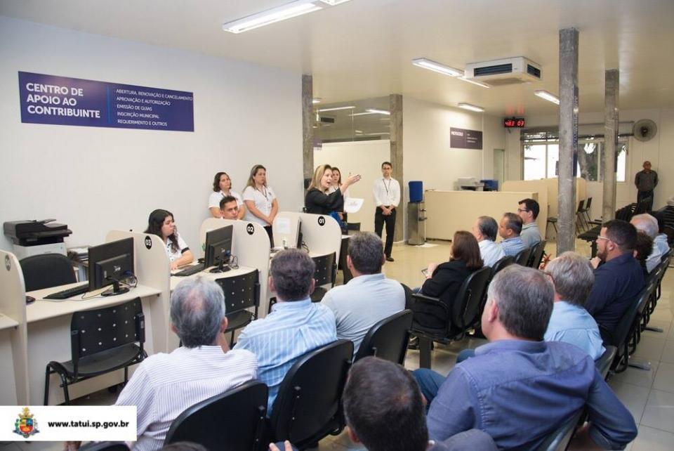 CENTRO DE APOIO AO CONTRIBUINTE É INAUGURADO PARA AGILIZAR DEMANDAS DOS CIDADÃOS NO PAÇO