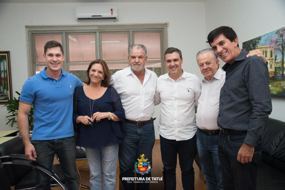 DEPUTADO FEDERAL LUIZ LAURO FILHO VISITA TATUÍ