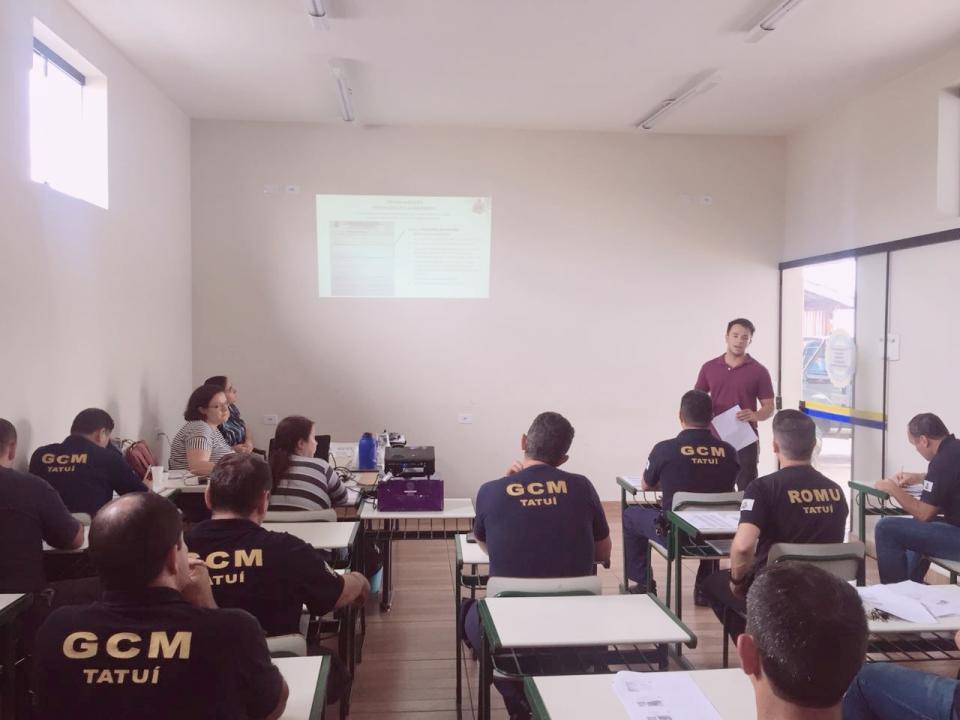 PREFEITURA PROMOVE TREINAMENTO E CAPACITAÇÃO AMBIENTAL PARA AGENTES DA GUARDA CIVIL MUNICIPAL
