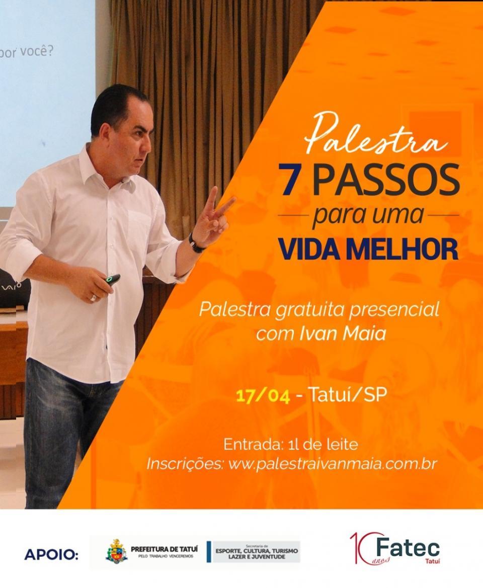 FATEC E PREFEITURA REALIZARÃO PALESTRA