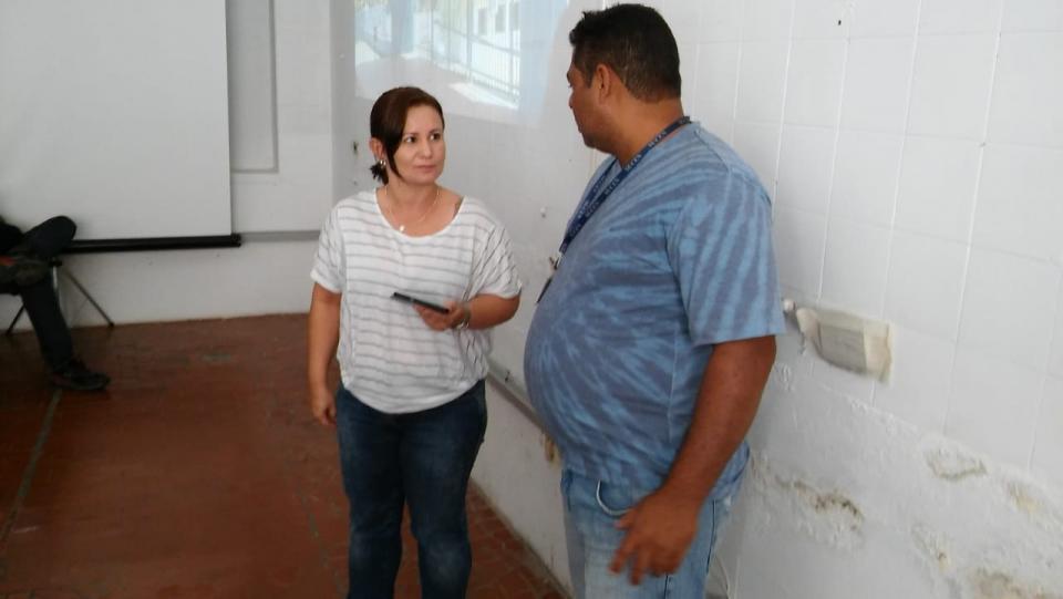 AGENTES DO SETOR DE COMBATE A DENGUE PARTICIPAM DE  TREINAMENTO PARA O USO DE TABLETS NOS TRABALHOS DE CAMPO