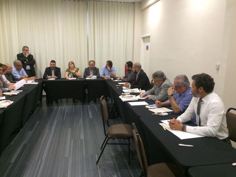 TATUÍ PARTICIPA DA 67ª REUNIÃO  DO FÓRUM PAULISTA DE SECRETÁRIOS E DIRIGENTES   PÚBLICOS DE MOBILIDADE URBANA