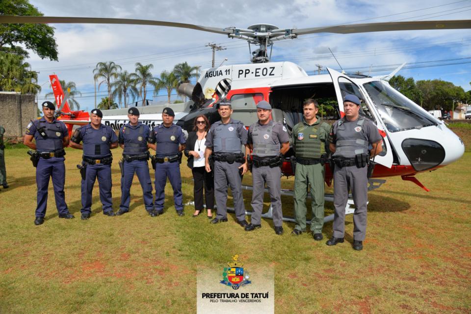 FORÇAS DE SEGURANÇA REALIZAM OPERAÇÃO POLICIAL INTEGRADA EM TATUÍ