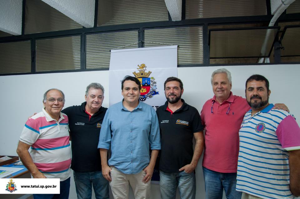 TATUÍ RECEBE DELEGAÇÃO DE SOROCABA EM REUNIÃO PARA OS JOGOS REGIONAIS 2018