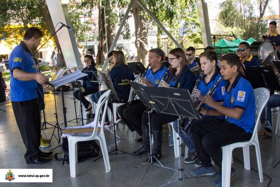 """""""MÚSICA NA PRAÇA"""" RECEBERÁ A CORPORAÇÃO MUSICAL BANDEIRANTES PORTOFELICENSE"""