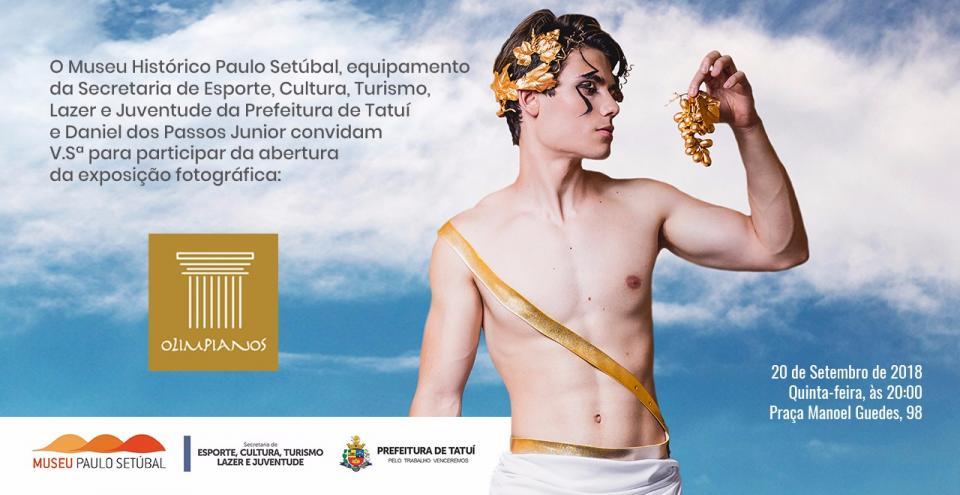 """EXPOSIÇÃO FOTOGRÁFICA """"OLIMPIANOS"""" FARÁ PARTE DA PROGRAMAÇÃO DA 12ª PRIMAVERA DOS MUSEUS"""