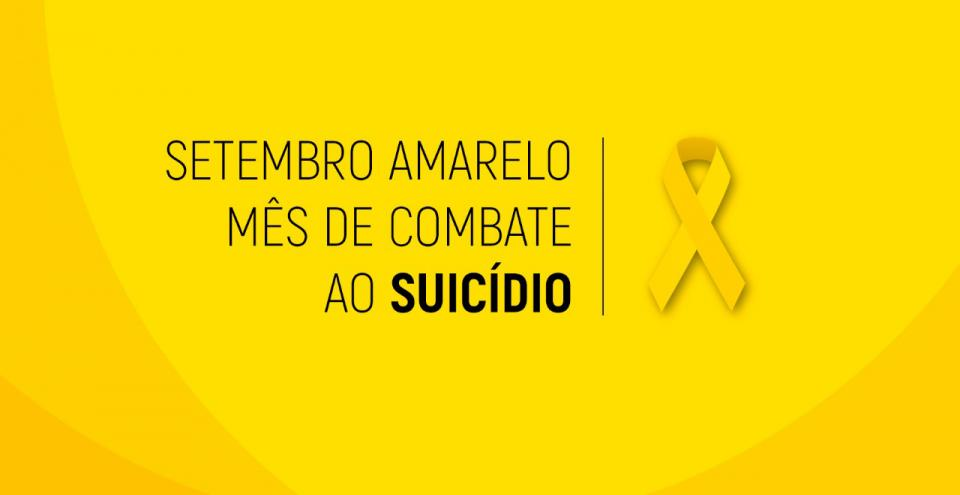 UNIDADES DE SAÚDE TERÃO PALESTRA DA CAMPANHA SETEMBRO AMARELO