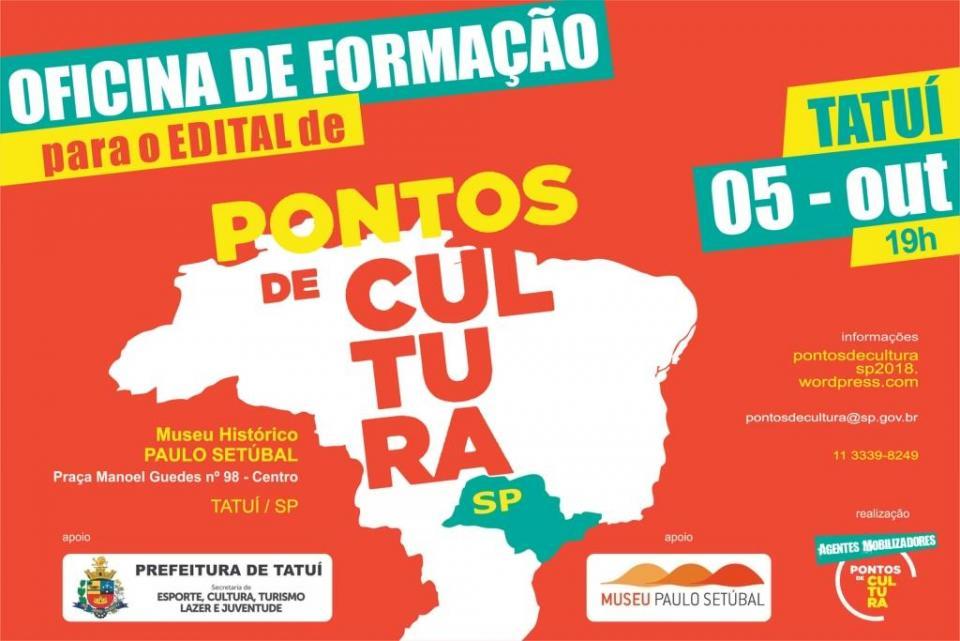 MUSEU SEDIARÁ OFICINA DE FORMAÇÃO   DA SECRETARIA ESTADUAL DA CULTURA