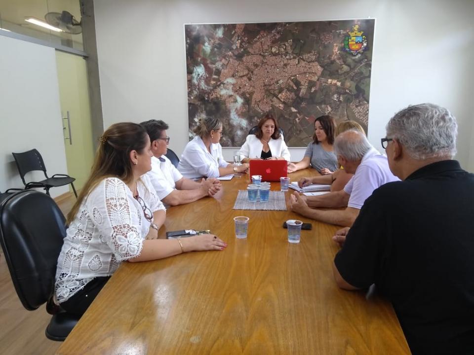 REUNIÃO AVALIA SEIS MESES DE ATIVIDADES   DO BANCO DE SANGUE DE TATUÍ