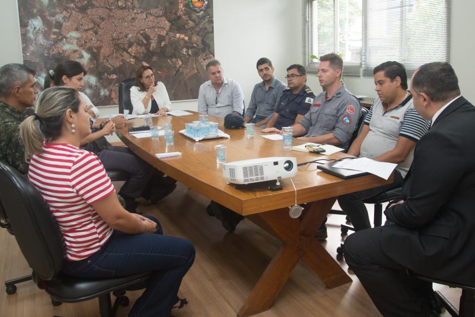 GABINETE DE GESTÃO INTEGRADA MUNICIPAL REALIZA PRIMEIRO ENCONTRO DE 2019