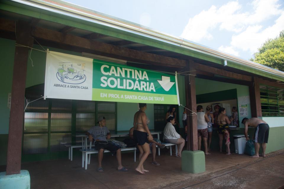 PARQUE ECOLÓGICO MUNICIPAL MARIA TUCA TEM CANTINA SOLIDÁRIA EM PROL DA SANTA CASA DE TATUÍ