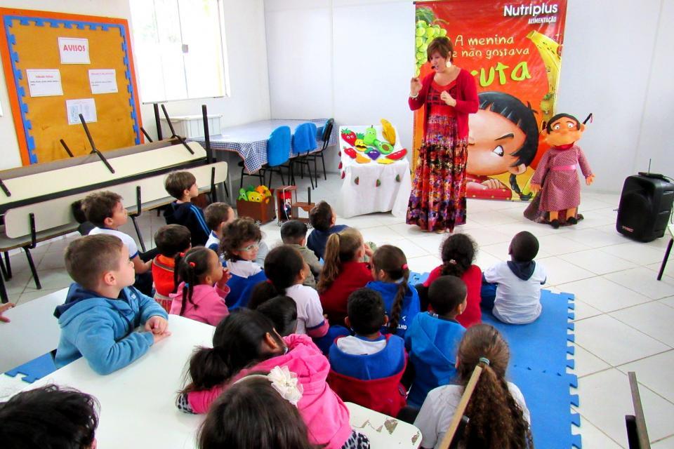 ALUNOS DA EDUCAÇÃO INFANTIL MUNICIPAL PARTICIPARÃO DE PROJETO   DE EDUCAÇÃO ALIMENTAR DA NUTRIPLUS