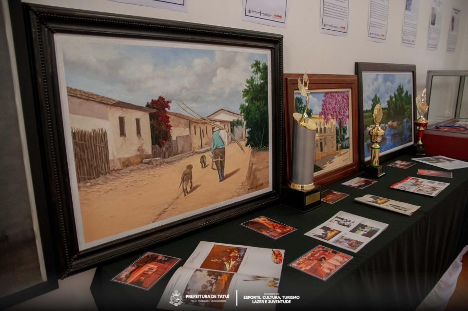 EXPOSIÇÃO SOBRE O ARTISTA PLÁSTICO  MINGO JACOB ESTÁ EM CARTAZ NO MUSEU