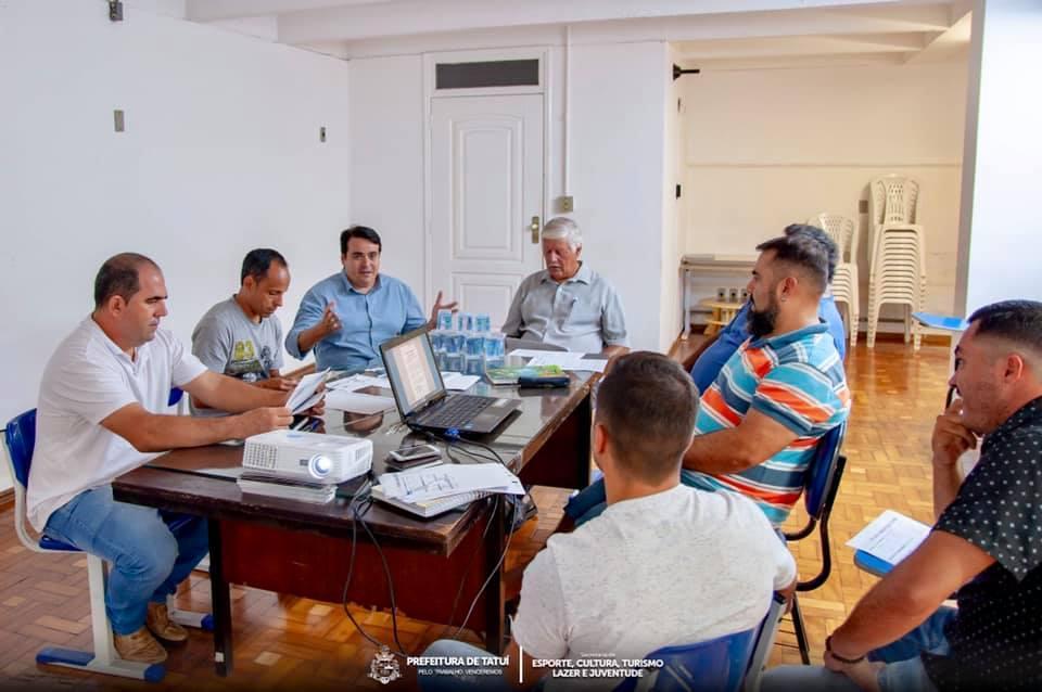 CONGRESSO TÉCNICO DA 7ª COPA CRAQUE DO FUTURO DE FUTEBOL DE CAMPO É REALIZADO