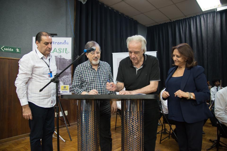PARCERIA INÉDITA VAI AJUDAR DIVULGAÇÃO DA  PRODUÇÃO DO CONSERVATÓRIO PARA O BRASIL