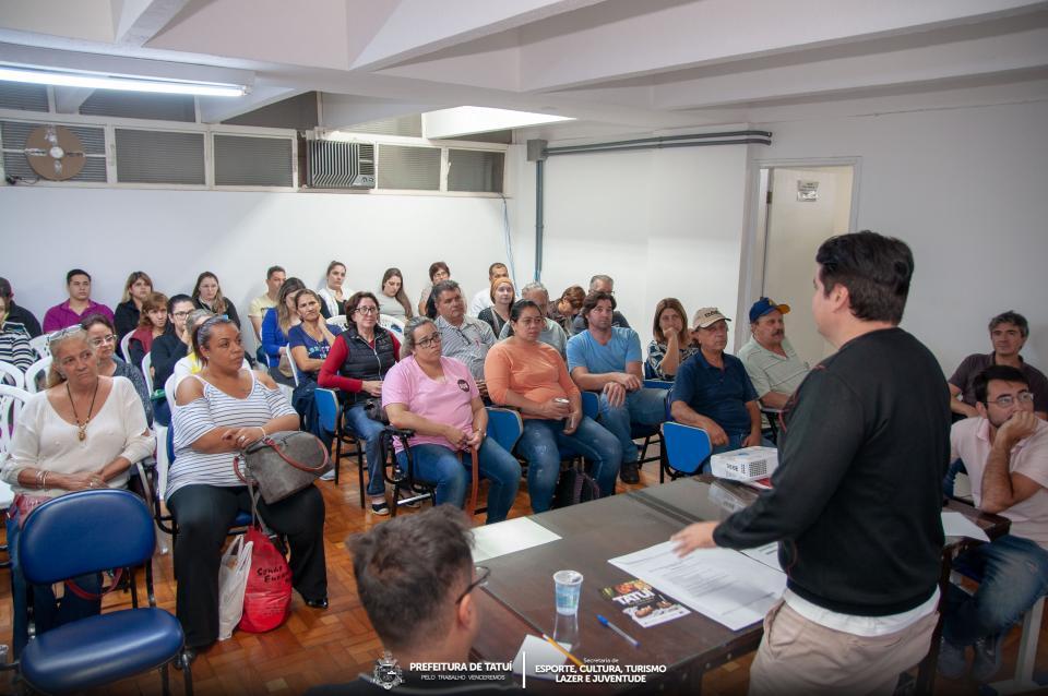 REUNIÃO ABORDA PREPARAÇÃO   E ESTRUTURAÇÃO DA  7ª FEIRA DO DOCE DE TATUÍ