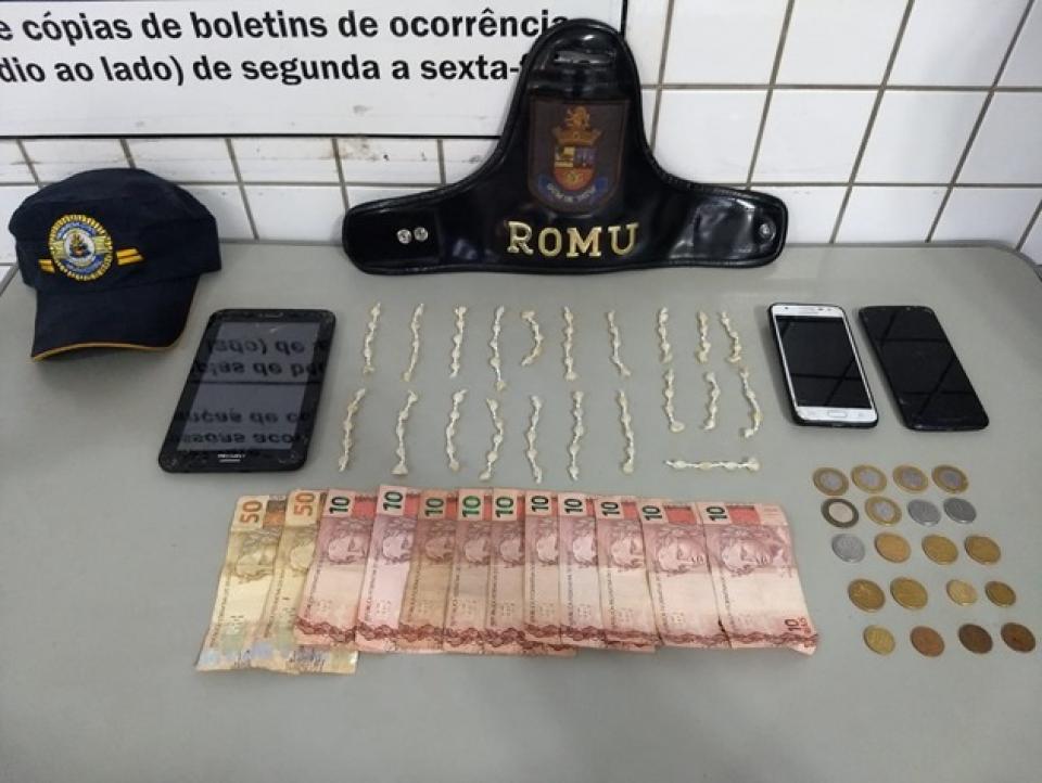 GUARDA MUNICIPAL DE TATUÍ APREENDE TRÊS ADOLESCENTES POR ENVOLVIMENTO COM O TRÁFICO DE DROGAS, NO JARDIM ROSA GARCIA II