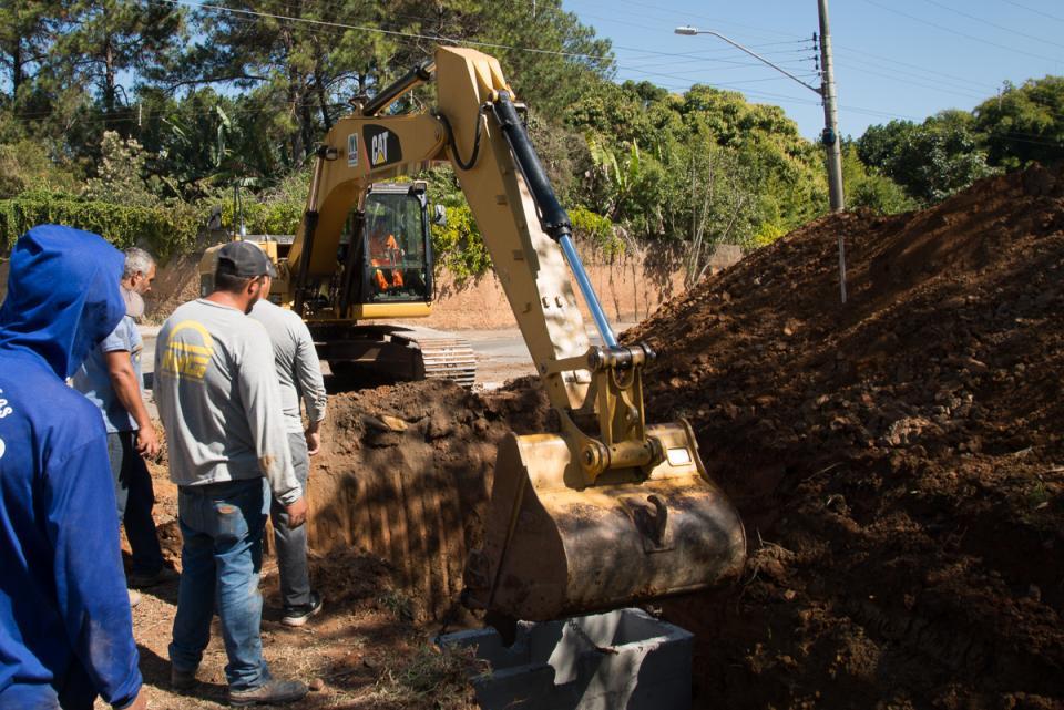 PREFEITURA INICIA NOVA FASE NA DUPLICAÇÃO   DA MARGINAL DO RIBEIRÃO MANDUCA