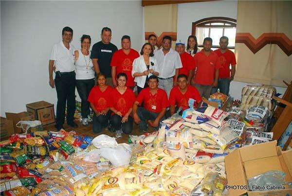 Sindicato dos Metalúrgicos doa 2.650 quilos de alimentos ao Fusstat