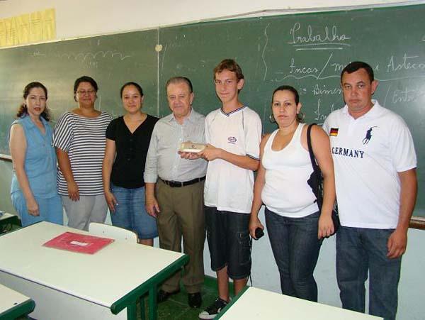 Gonzaga prestigia aluno tatuiano que é destaque no Soletrando