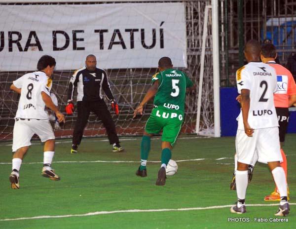 Palmeiras e Santos empatam em 8 a 8 pelo 3º Torneio Rio-São Paulo de Showbol